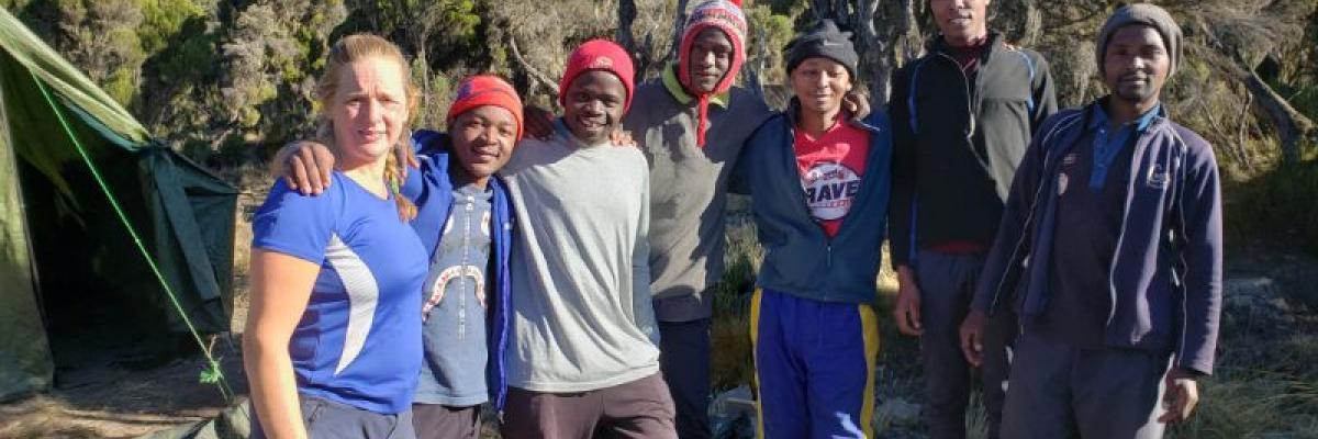 Team Building in Africa